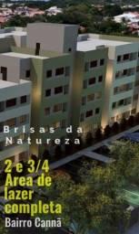 Mega Lançamento 2 e 3/4 com Subsídio de até 21.000 - Brisas da Natureza