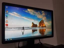 """Computador completo DELL, monitor LCD 18,5"""", Intel Core Duo, Perfeito 100%."""