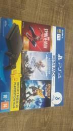 Título do anúncio: PS4 1TB, Vendo e troco
