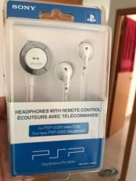 Fone P/ PSP Original Sony Novo