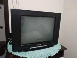 Tv de tubo Philips com antena