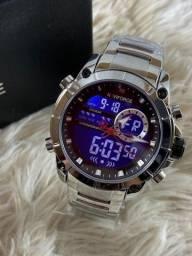 Relógio aço inoxidável Naviforce - Unique Design