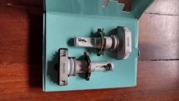 Título do anúncio: Vendo super led Philips H4 + lanterna