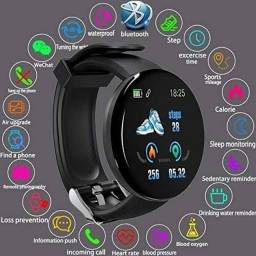 Smartwatch D18 - Relógio Inteligente envio imediato