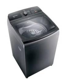 Maquina de lavar 12Kg titânio com Ciclo Tira Manchas Advanced