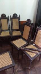 Título do anúncio: 5 cadeiras de madera para reciclar