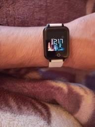 Título do anúncio: Oferta relâmpago ?! Smartwatch b57 original muda papel de parede! Com Garantia!