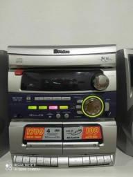 Título do anúncio: Micro System Philco 1700 watts Pmpo