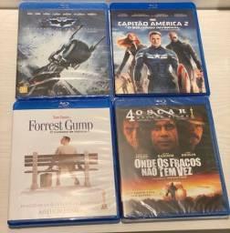Blu-Rays Originais de Diversos Filmes