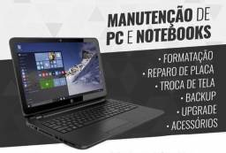 Assistência técnica em Notebook e Pc