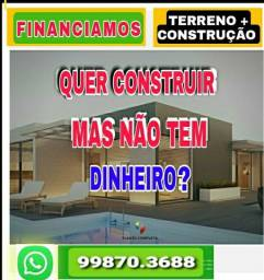 AQUISIÇÃO Terreno  construção Financiada