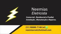Eletricista Profissional (aceito Pix /cartão)