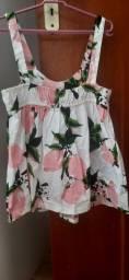 Título do anúncio: Vestidos floridos tamanho 2 anos