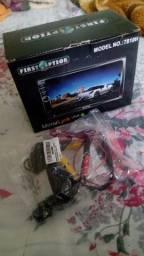 Kit multimídia com câmera de ré