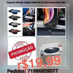 Suporte Veicular Celular Saída De Ar Carro Automotivo Gps r$19,99*