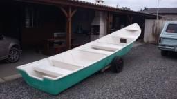 Barco batera bote lancha de fibra