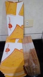 Título do anúncio: 250 Pacotes para Pastel 25cm