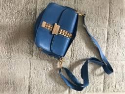 Vendo linda bolsa mao ou ombro couro legitimo