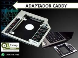 Caddy adaptador para segundo HD para Notebook
