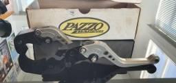 Manetes Pazzo Racing reguláveis Originais - Suzuki GSX R1000 08