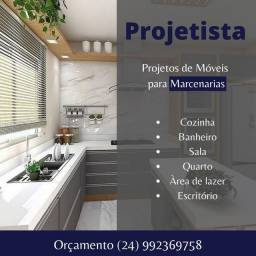 Projeto de Móveis para Marceneiros