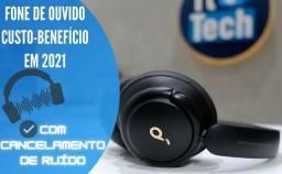 Novo cupom! Fone bluetooth Anker Q30 com cancelamento de ruído 12x R$33