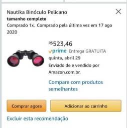 Título do anúncio: Binóculo Nautika Pelicano
