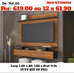 Painel de televisão até 60 Plg-Painel de TV-Sala de Estar- Grande-LiquidaçãopaineisMS