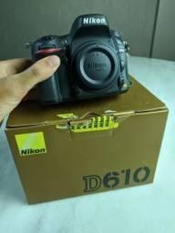 Nikon D610 / 2803 Cliques! Com Muitos Extras!