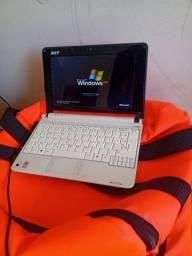 Netbook Acer branco seminovo