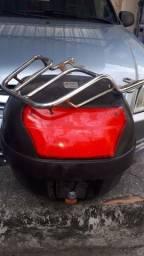 Bauleto para factor cabe 1 capacete 28 litros completo com chave e churrasqueira.