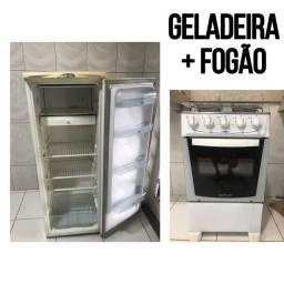 Título do anúncio: Geladeira + Fogão