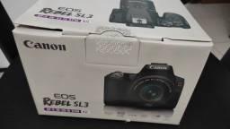 Câmera Canon SL3 - NOVA