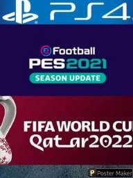 Título do anúncio: Pes 2021 - Option file Seleções da Fifa - PS4