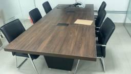 Título do anúncio: Oportunidade - Mesa Reunião com 6 Cadeiras