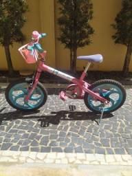 Bicicleta Aro 16 - Barbie - Caloi