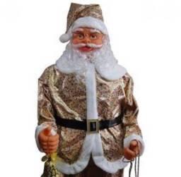 Título do anúncio: Lindo Papai Noel Dourado
