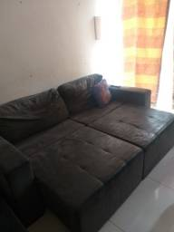 Título do anúncio: Esse  sofá  é  2 lugares.  Mais  é  grande.