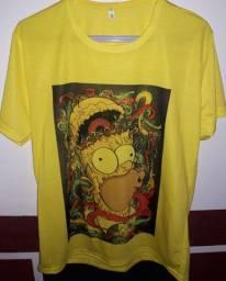 Camisa do Os Simpson T-M