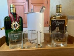 Kit whisky raros - 1970/1980