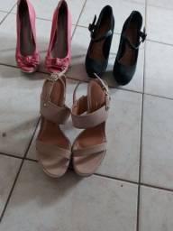 Vendo 3 calçados