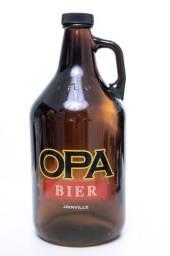 Growler Térmico Garrafa De Vidro Opa Bier 1,9 Litros