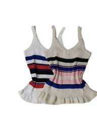 Regata de tricô feminina