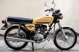 CG 125 - 1982 - Placa preta