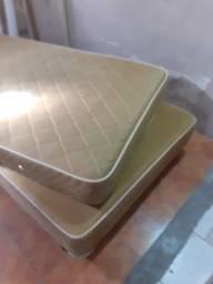 Cama box ( viúva )  med 1,20 larg 2,00 comp marca probel usada conservada *** entrego