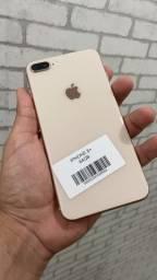 iPhone 8 Plus gold rose 64gb impecável (garantia 5 meses)