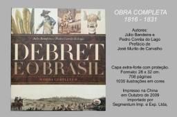 Debret no Brasil - estojo com obra completa