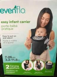 Canguru para bebê até 11,8Kg EvenFlo