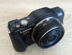 Panasonic Lumix Gf5 + 14mm F2.5 + 2 Baterias