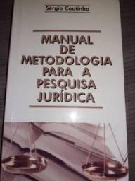 Manual de metodologia para a pesquisa jurídica